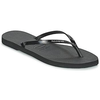 Pantofi Femei  Flip-Flops Havaianas YOU METALLIC Negru