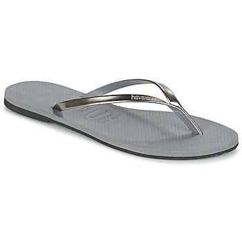 Pantofi Femei  Flip-Flops Havaianas YOU METALLIC Gri