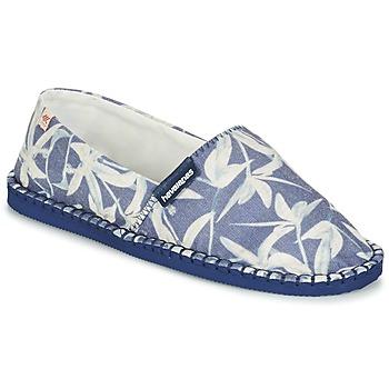 Pantofi Espadrile Havaianas ORIGINE ORQUIDEAS Bleumarin / Alb