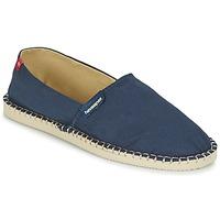 Pantofi Espadrile Havaianas ORIGINE III Bleumarin / Bej