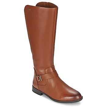 Pantofi Femei Cizme casual Clarks MINT TREAT GTX Maro
