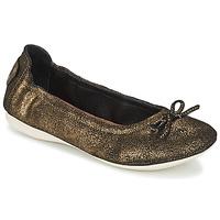 Pantofi Femei Balerin și Balerini cu curea PLDM by Palladium MOMBASA Auriu / Negru