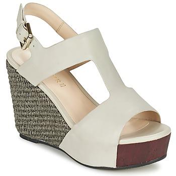 Pantofi Femei Sandale  Café Noir CHANVIO Bej