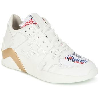 Încăltăminte Femei Pantofi sport stil gheata Serafini CHICAGO Alb / Auriu