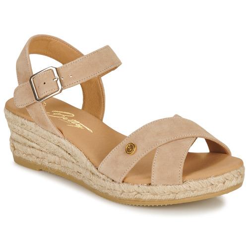 Pantofi Femei Sandale  Betty London GIORGIA Taupe