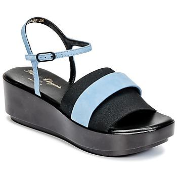 Pantofi Femei Sandale și Sandale cu talpă  joasă Robert Clergerie PODDY Negru / Albastru