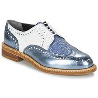 Pantofi Femei Pantofi Derby Robert Clergerie ROELTM Albastru / Metalizat / Alb