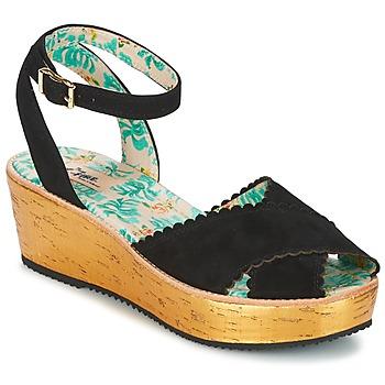 Pantofi Femei Sandale  Miss L'Fire MARCIE Negru