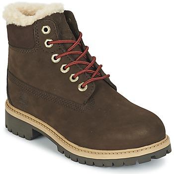 Pantofi Copii Ghete Timberland 6 IN PRMWPSHEARLING Maro