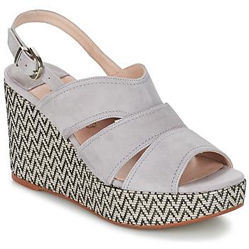 Încăltăminte Femei Sandale și Sandale cu talpă  joasă Spiral PAULA Gri