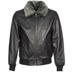 Îmbracaminte Bărbați Jachete din piele și material sintetic Schott FELIATO Negru