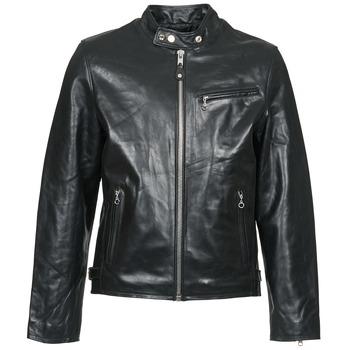 Îmbracaminte Bărbați Jachete din piele și material sintetic Schott LC 940 D Negru