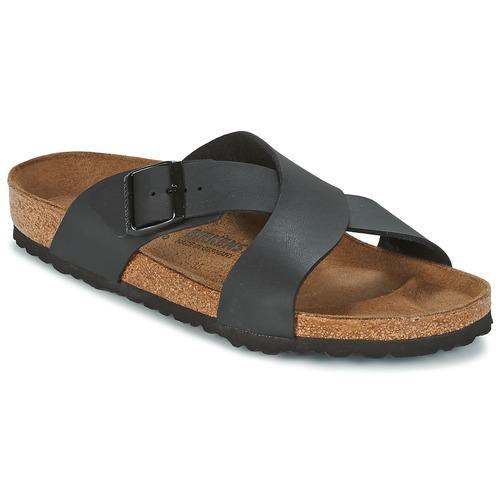 Pantofi Bărbați Papuci de vară Birkenstock TUNIS Negru