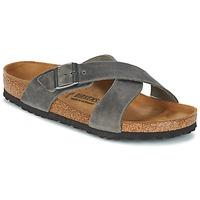 Pantofi Bărbați Papuci de vară Birkenstock TUNIS Gri