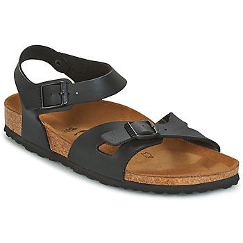 Pantofi Femei Sandale  Birkenstock RIO Negru