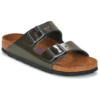 Pantofi Femei Papuci de vară Birkenstock ARIZONA Antracit