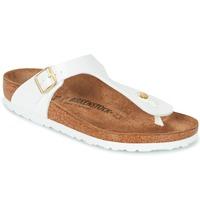 Pantofi Femei  Flip-Flops Birkenstock GIZEH Alb / Auriu