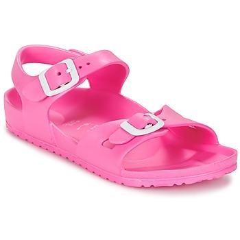 Pantofi Copii Sandale  Birkenstock RIO EVA Roz / Fluo