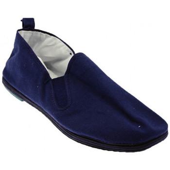 Pantofi Bărbați Mocasini De Fonseca  albastru