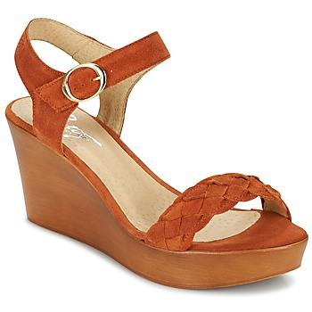Pantofi Femei Sandale  Betty London GIMI Maro ruginiu