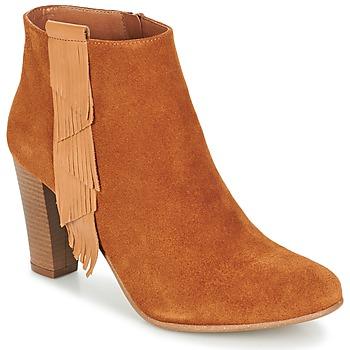Pantofi Femei Botine Betty London GAMI Camel