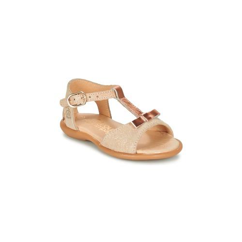 Pantofi Fete Sandale  Citrouille et Compagnie GUGULE Auriu