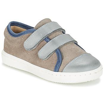 Pantofi Băieți Pantofi sport Casual Citrouille et Compagnie GOUTOU Gri / Taupe / Albastru