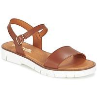 Pantofi Fete Sandale  Citrouille et Compagnie GLAPOTTI Camel
