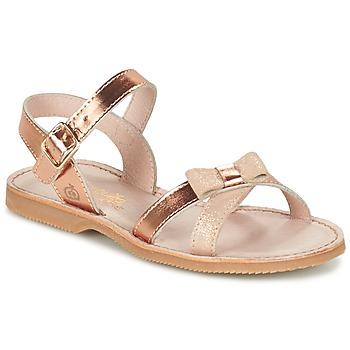 Pantofi Fete Sandale și Sandale cu talpă  joasă Citrouille et Compagnie JISCOTTE Bronz