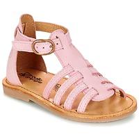 Încăltăminte Fete Sandale și Sandale cu talpă  joasă Citrouille et Compagnie JASMA Roz