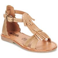 Pantofi Fete Sandale și Sandale cu talpă  joasă Citrouille et Compagnie GAMELA Camel