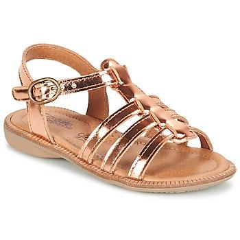 Pantofi Fete Sandale și Sandale cu talpă  joasă Citrouille et Compagnie GROUFLA Bronz