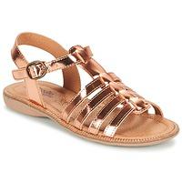 Pantofi Fete Sandale  Citrouille et Compagnie GROUFLA Bronz