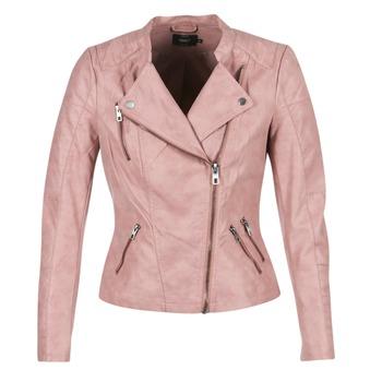 Îmbracaminte Femei Jachete din piele și material sintetic Only AVA Roz