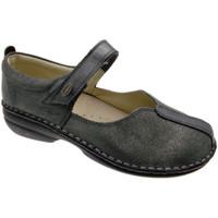 Pantofi Femei Balerin și Balerini cu curea Calzaturificio Loren LOM2626gr grigio