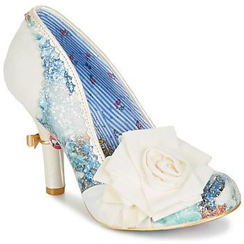 Încăltăminte Femei Pantofi cu toc Irregular Choice WASHINGTON Alb