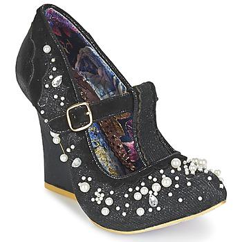 Pantofi Femei Pantofi cu toc Irregular Choice JUICY JEWELS Negru