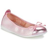 Pantofi Fete Balerin și Balerini cu curea Citrouille et Compagnie GRAGON Roz / Paiete