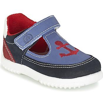 Pantofi Băieți Sandale și Sandale cu talpă  joasă Citrouille et Compagnie GANDAL Albastru / Roșu