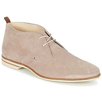 Pantofi Bărbați Ghete Casual Attitude GIUME Taupe