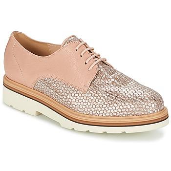Pantofi Femei Pantofi Derby Fericelli GRATY Roz / Nude
