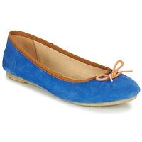 Pantofi Femei Balerin și Balerini cu curea Kickers BAIE Albastru / Portocaliu