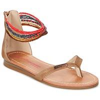 Pantofi Fete Sandale și Sandale cu talpă  joasă Les Tropéziennes par M Belarbi GINKGO Maro