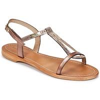Pantofi Femei Sandale și Sandale cu talpă  joasă Les Tropéziennes par M Belarbi HAMAT Bronz