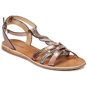 Pantofi Femei Sandale și Sandale cu talpă  joasă Les Tropéziennes par M Belarbi HAMS Bronz
