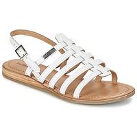 Pantofi Femei Sandale și Sandale cu talpă  joasă Les Tropéziennes par M Belarbi HAVAPO Alb