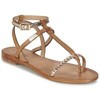 Pantofi Femei Sandale și Sandale cu talpă  joasă Les Tropéziennes par M Belarbi HILATRES Maro / Auriu
