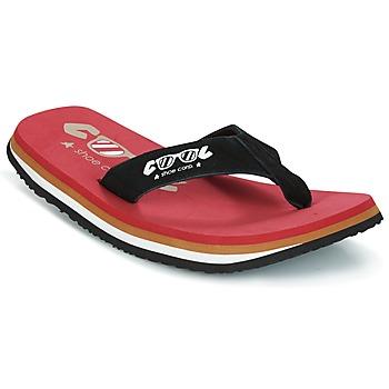 Pantofi Bărbați  Flip-Flops Cool shoe ORIGINAL Roșu / Negru