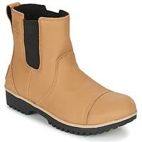 Pantofi Femei Ghete Sorel MEADOW CHELSEA Bej
