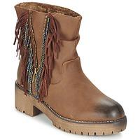 Pantofi Femei Ghete Coolway BARINA Camel